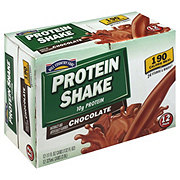 Hill Country Fare Protein Shake Chocolate 12 PK Cans