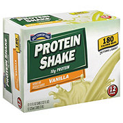 Hill Country Fare Protein Shake Vanilla 12 PK Cans