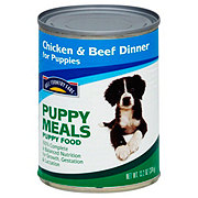Hill Country Fare Puppy Meals Complete and Balanced Formula Wet Puppy Food