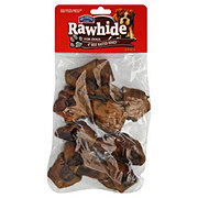 Hill Country Fare Rawhide For Dogs Beef Basted Bones
