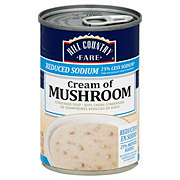 Hill Country Fare Reduced Sodium Condensed Cream of Mushroom Soup