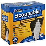 Hill Country Fare Scoopable Unscented Clumping Cat Litter For Multiple Cats