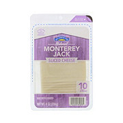 Hill Country Fare Sliced Monterey Jack Cheese