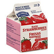 Hill Country Fare Sliced Strawberries with Sugar Added