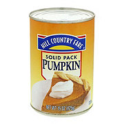 Hill Country Fare Solid Pack Pumpkin