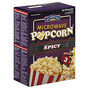 Hill Country Fare Spicy Microwave Popcorn