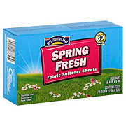 Hill Country Fare Spring Fresh Fabric Softener Sheets
