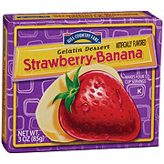 Hill Country Fare Strawberry-Banana Gelatin Dessert Mix