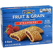 Hill Country Fare Strawberry Fruit and Grain Cereal Bars