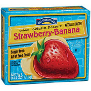 Hill Country Fare Sugar Free Strawberry-Banana Gelatin Dessert Mix