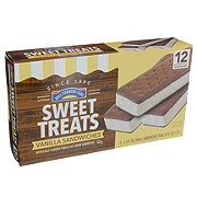 Hill Country Fare Sweet Treats Vanilla Ice Cream Sandwiches