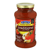 Hill Country Fare Traditional Flavored with Meat Pasta Sauce