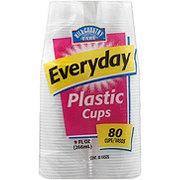 Hill Country Fare Translucent Plastic Cups, 9 oz