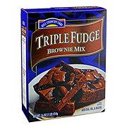 Hill Country Fare Triple Fudge Brownie Mix