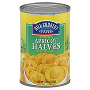 Hill Country Fare Unpeeled Apricot Halves In Heavy Syrup