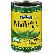 Hill Country Fare Whole Mild Green Chiles