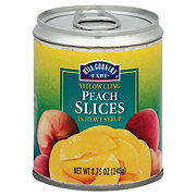 Hill Country Fare Yellow Cling Peach Slices In Heavy Syrup