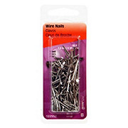 Hillman 1 Inch x 16 Wire Nails 2 OZ