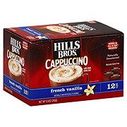 Hills Bros. Cappuccino Single Serve, French Vanilla