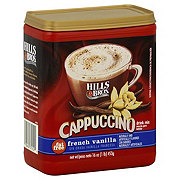 Hills Bros. Fat Free French Vanilla Cappuccino Drink Mix