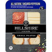 Hillshire Farm All Natural Pepperoni & Cheddar Cheese Snack Plate