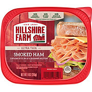 Hillshire Farm Ultra Thin Sliced Lunchmeat Smoked Ham