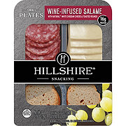Hillshire Farm Wine Infused Salame & Cheddar Cheese Snack Plate