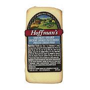 Hoffman'S Hickory Smoked Pasteurized Process Swiss And Cheddar Cheese