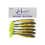 Hogie's Fishing Lures Major Minnow, Root Beer Black