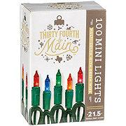 Holiday Market 100 Multi Color Mini Indoor / Outdoor Lights
