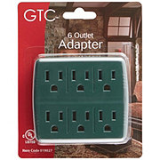Holiday Market 6 Outlet Adapter