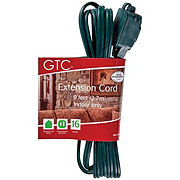 Holiday Market 9' Green Extension Cord