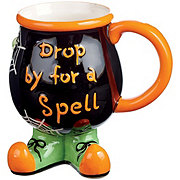 Holiday Market Ceramic Witch Mug Assorted