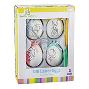 Holiday Market DIY Easter Eggs With Pens