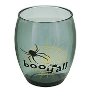 Holiday Market Halloween Plastic Stemless Wine Glass