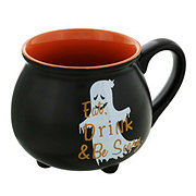 Holiday Market Halloween Stoneware Cauldron Mug
