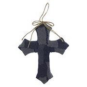 Holiday Market Jean Cross Ornament