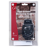 Holiday Market Mechanical Photoelectric Outdoor Timer