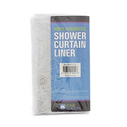 Home Collections Vinyl Clear Magnetic Shower Curtain Liner