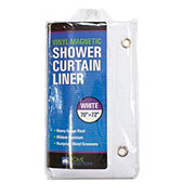 Home Collections Vinyl Magnetic Shower Curtain Liner White Select Options For Price Rating Is 0 Stars Out Of 5