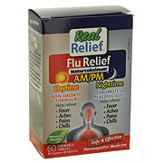 Homeolab Real Relief Flu Relief Daytime & Nighttime
