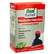 Homeolab Real Relief Headache & Migraine Symptom Relief