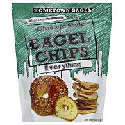 Hometown Bagel Chicago Style Bagel Chips - Everything