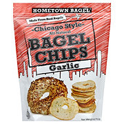 Hometown Bagel Chicago Style Garlic Bagel C hips