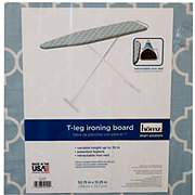Homz T-Leg Ironing Board with Retractable Iron Rest