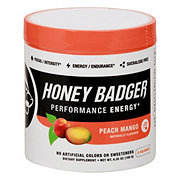 Honey Badger Peach Mango Performance Energy