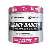 Honey Badger Wild Berry Performance Energy