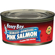 Honey Boy Skinless & Boneless Pink Salmon