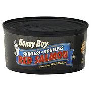 Honey Boy Skinless Boneless Red Salmon