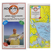 Hook-N-Line F116 Upper Laguna Madre Fishing Map
